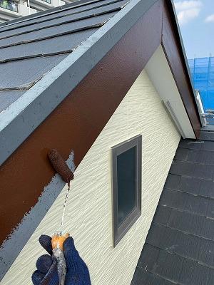 さいたま市大宮区 破風 付帯塗装