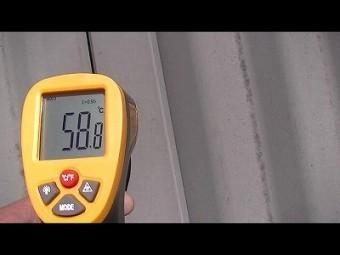 屋根表面温度 高温 埼玉