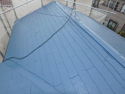さいたま市桜区で【雨漏り】による屋根塗装を行いました。