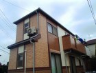 塗装完了した家の写真です