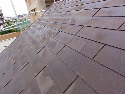 朝霞市 高圧洗浄 屋根塗装