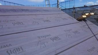 川口市 屋根防水シート