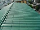無釉薬瓦の屋根塗装の完了後の写真