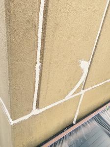 外壁ヒビ補修