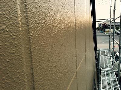 外壁ヒビ補修後