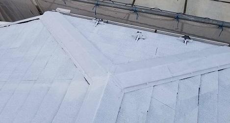 北足立郡 屋根下塗り