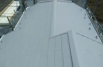 北足立郡 屋根塗装後
