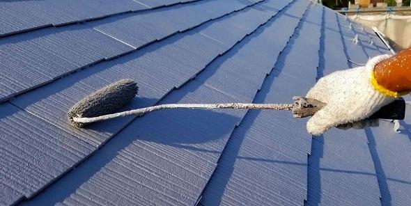 北足立郡 屋根 上塗り