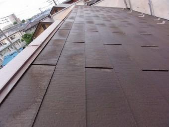 朝霞市屋根洗浄後