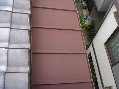 サビ止め処理塗料さび色