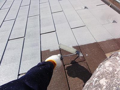 朝霞市 下塗 屋根塗装
