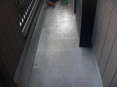 埼玉県伊奈町でベランダ防水加工