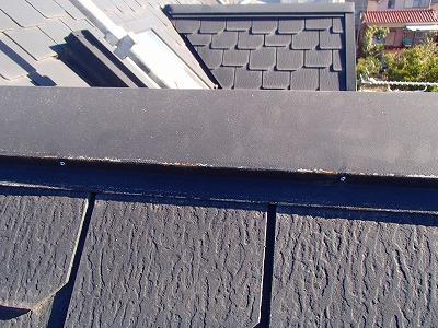 さいたま市中央区、屋根釘を新しものに交換後、屋根塗装、外壁塗装、屋根漆喰補修