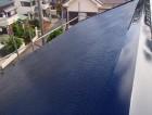 屋根の塗装完成後の写真