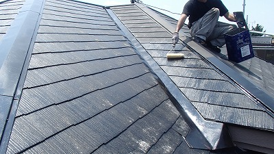 北本市 下塗り 屋根補修