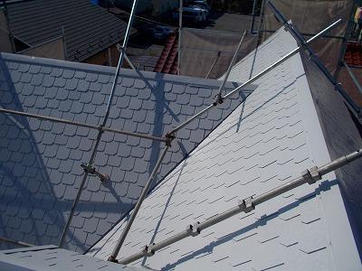 さいたま市中央区、屋根下塗り、外壁塗装、屋根漆喰補修