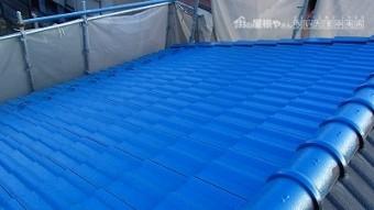 さいたま市大宮区 瓦屋根塗装