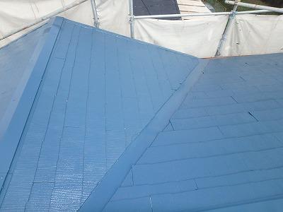 さいたま市桜区 屋根 塗装後