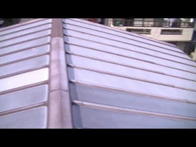屋根全体の様子施工前