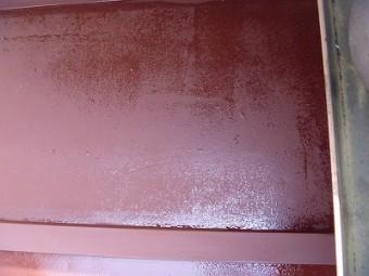 トタン部分 塗り替え後