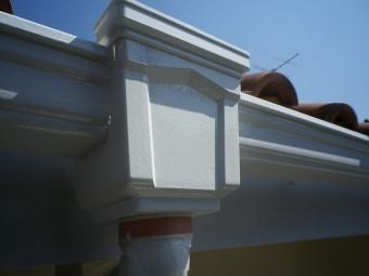 飾り集水器塗装後
