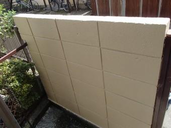 門外壁塗装後