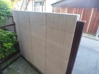 門外壁塗装前