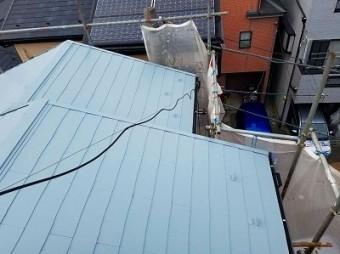 朝霞市 屋根塗装 スーパーシャネツサーモsi
