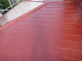 屋根の塗装完了