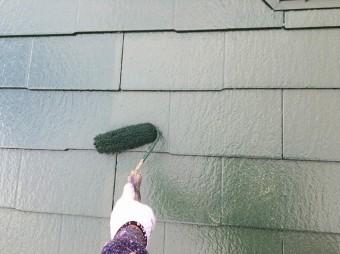 中塗り 塗装 屋根