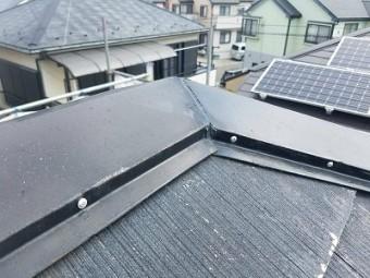 上尾市 屋根塗装前