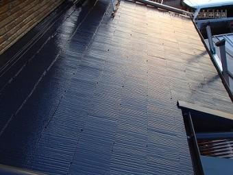 川口市下屋根塗装工事