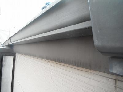 雨樋の塗り替え工事