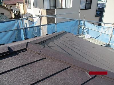 さいたま市中央区 ガルバリウム鋼板 カバー工法