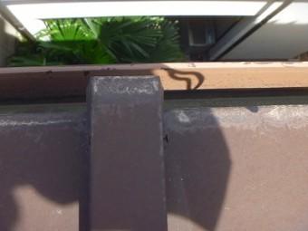 トタン部分 屋根 塗り替え前