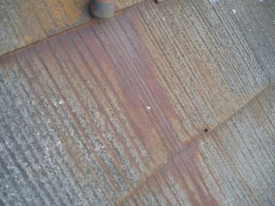 錆垂れ 屋根