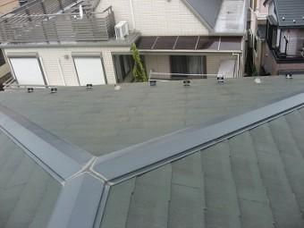 築13年目の屋根の様子
