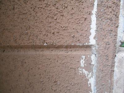 さいたま市 玄関付近の塗膜の剥離