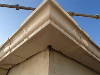 さいたま市 屋根塗装 雨樋交換後