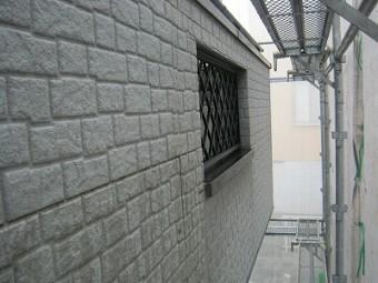 ベランダ外壁汚い