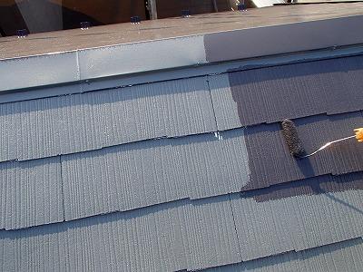 川口市屋根塗装工事