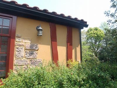 外壁の木部