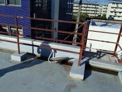 富士見市 屋上防水塗装