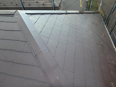 越谷市屋根中塗り