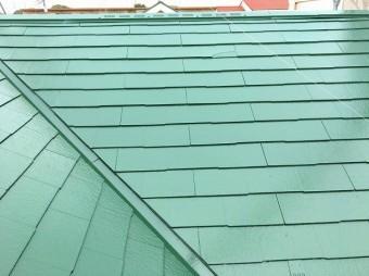 完成 屋根塗装