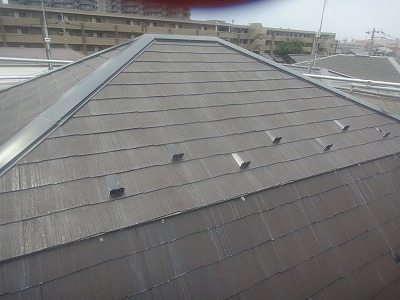 富士見市 屋根 下塗り