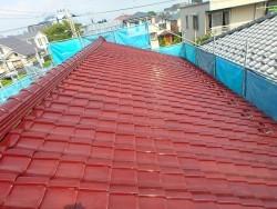 塗り替え前の屋根の様子