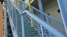 階段部分塗装前