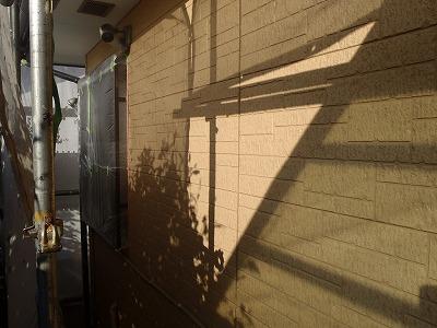 外壁の塗装前