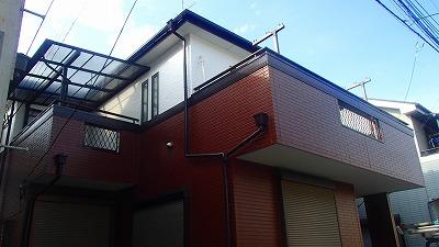 さいたま市桜区で【屋根・外壁】塗装を行いました
